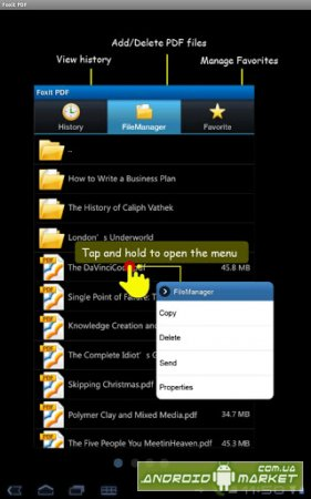 Foxit Mobile PDF Reader for Android
