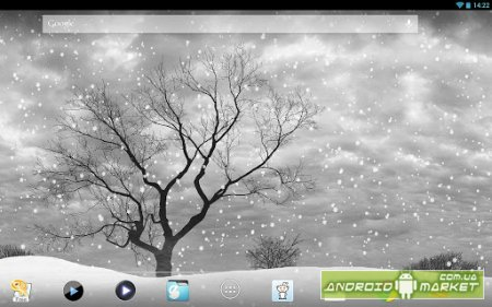 Lonely Tree Live Wallpaper