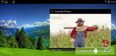 Floating YouTube Popup Video