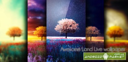 Awesome Land Live Wallpaper