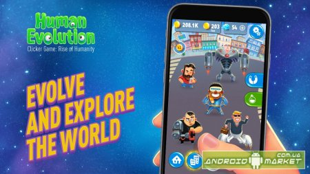 Human Evolution Clicker Game: Rise of Mankind