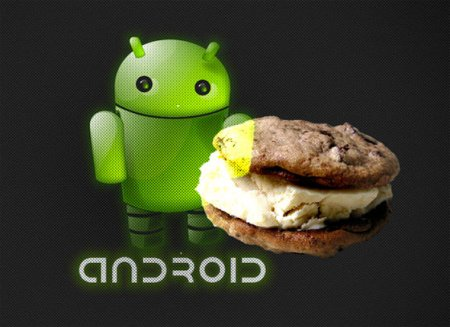 Android Ice Cream Sandwich �� Google. ��������� �����