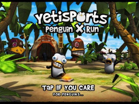 Yetisports Penguin X Run для Android Froyo