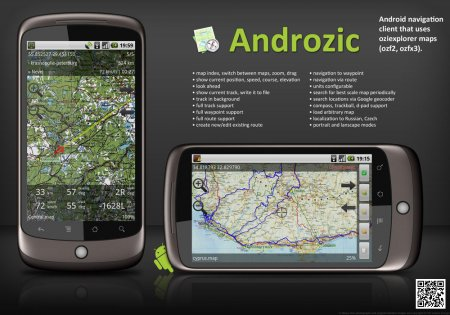 Androzic + ����� ���������� ������������� ��������� �� �������