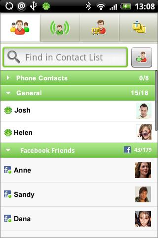 ICQ Messenger - top-android.net
