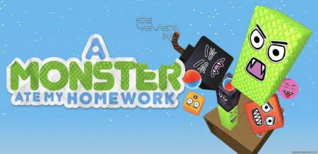 A Monster Ate My Homework для андроид