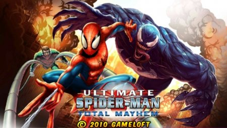 Spider-Man: Total Mayhem HD для Андроид
