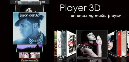 3D Music Player для Андроид