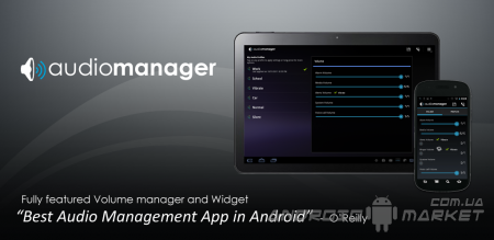 AudioManager Widget