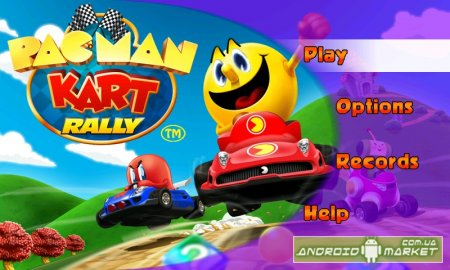Pac Man Kart Rally - ����� � ��� �����