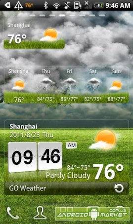 GO Weather � ������ ������ + ��������� ���