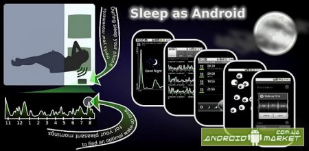 Sleep as Android FULL – будильник с фазами сна