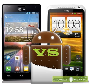 LG Optimus 4X HD vs HTC One X - тестировании в бенчмарках