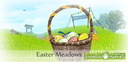 Easter Meadows Live Wallpaper