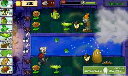 Plants vs. Zombies на Андроид