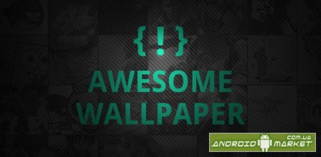 Awesome Wallpapers - обои с интерфейсом