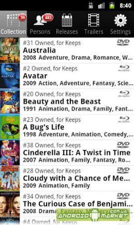 My Movies Pro для Android