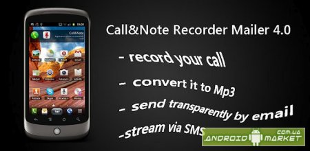Call&Note Recorder Mailer PRO - ������ ���������� � �����