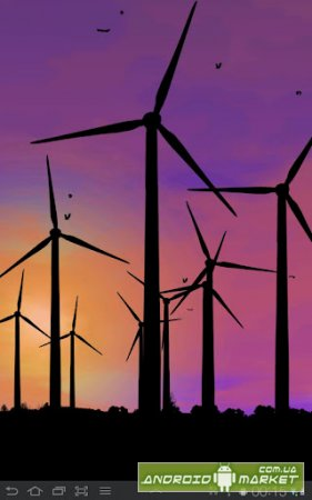 Wind Power Live Wallpaper Full