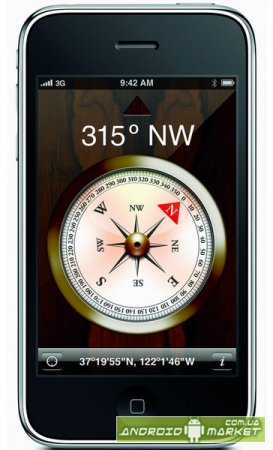 iPhone Compass – компас
