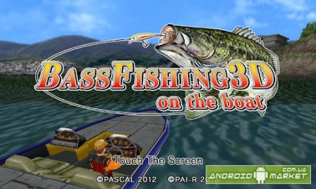 Bass Fishing 3D on the Boat Full – рыбалка