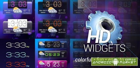 HD Widgets 3 Full - ������ ������, ����� � ���������
