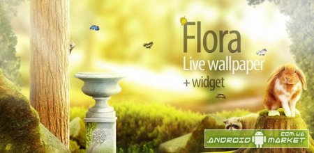 Flora Live Wallpaper + Widget