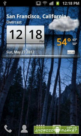 3D Sense Clock & Weather