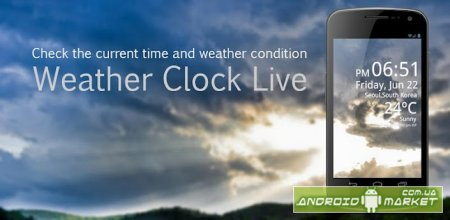 Weather Clock Live
