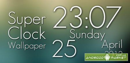 Super Clock Live Wallpaper Pro