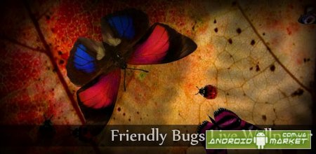 Friendly Bugs Live Wallpaper