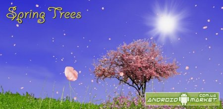 Spring Trees Live Wallpaper - весенняя обоина