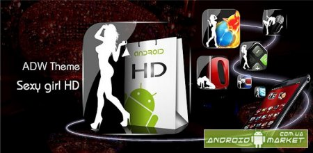 ADW Theme Sexy Girl HD Full