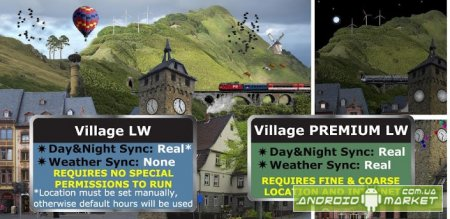 Village PREMIUM Live Wallpaper