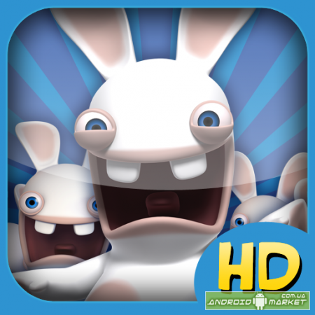 Rabbids Go Phone Again HD