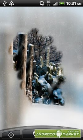 Blurry Frozen Window (adfree)
