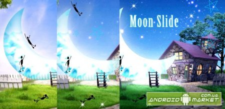 Moon Slide Live Wallpaper