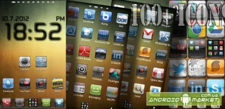 Iphone 5 GO ADW APEX NOVA NEXT