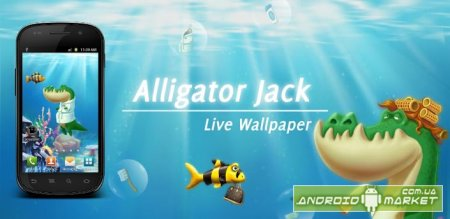 Alligator Jack Live Wallpaper