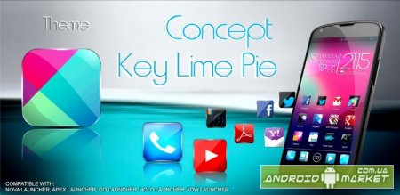 Concept key lime pie HD