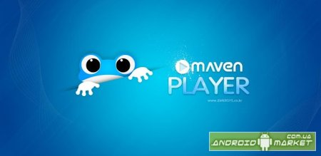 3D Music Player MAVEN Blue