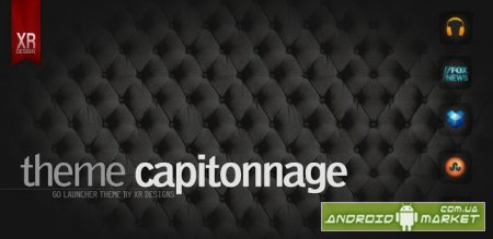 Capitonnage Black Leather GO