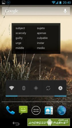 Learning Languages Widget