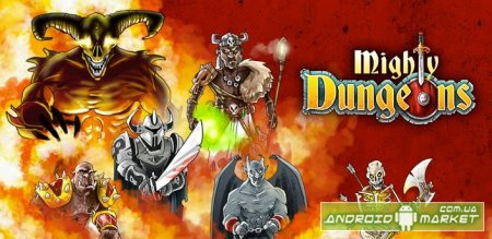 Mighty Dungeons RPG для андроид