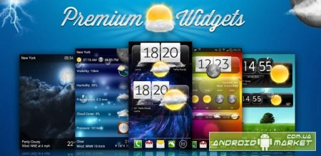 Premium Widgets & Weather Premium