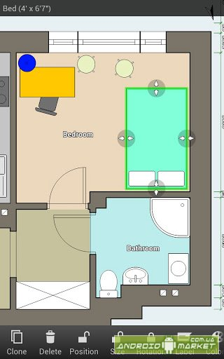Floor plan creator android market google play for Floor plan creator android