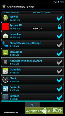 Android Memory Toolbox PRO