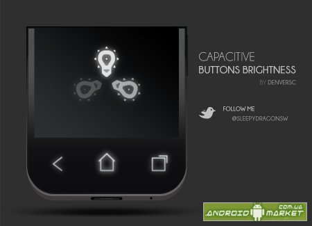 Capacitive Button Brightness