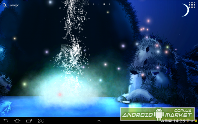 3D Night Waterfall LWP PRO