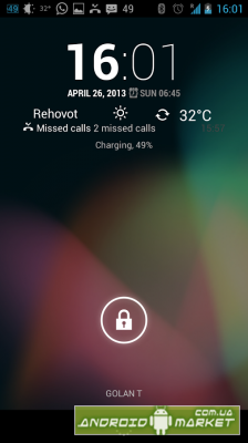 Notification LockScreen Widget